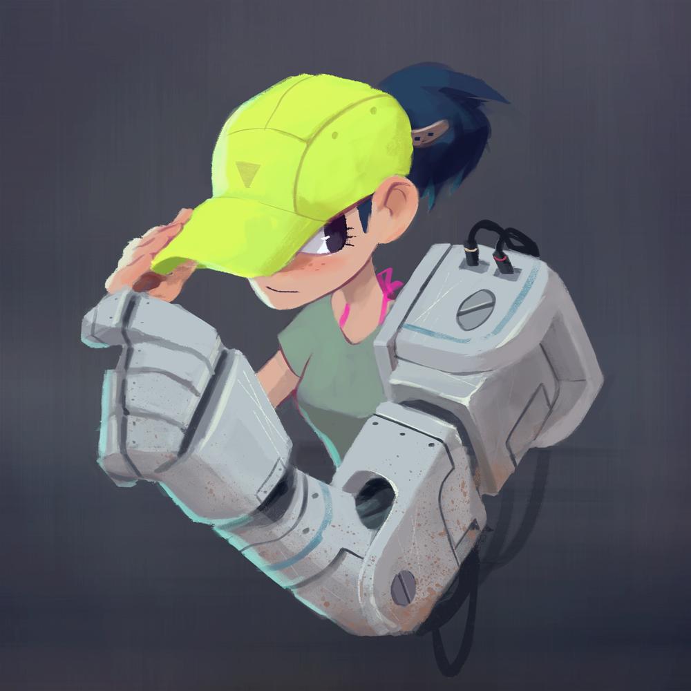 Mech Arm 2 by yiKOmega