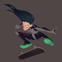 Suit Skater
