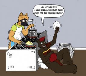 TRADE- Hunger Bear by Jedader