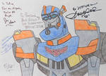 Auto Assembly 2014 - My Signed Pic Of TFA Sentinel