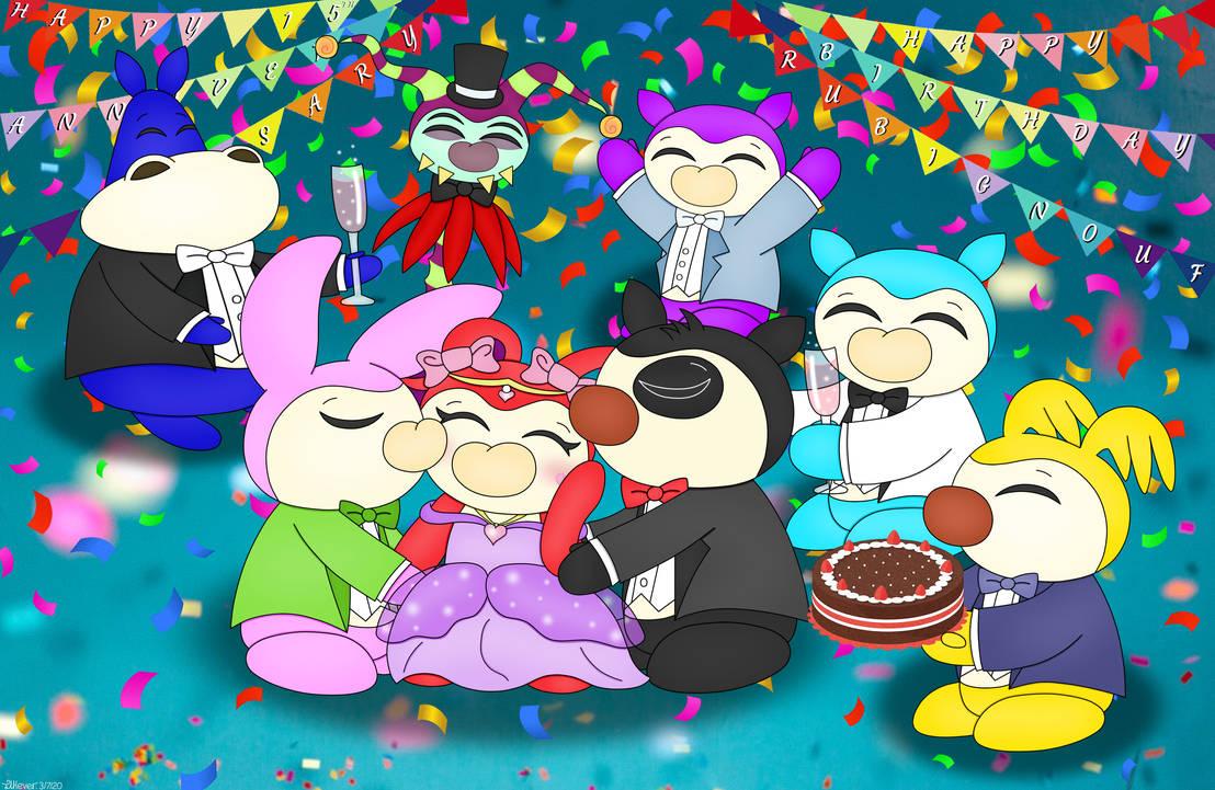 Happy 15th Anniversary Gnoufs + Happy B-Day Rubi!