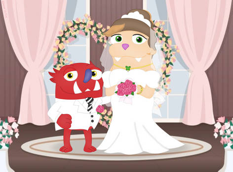 Bugsnax - Cromella Wedding~