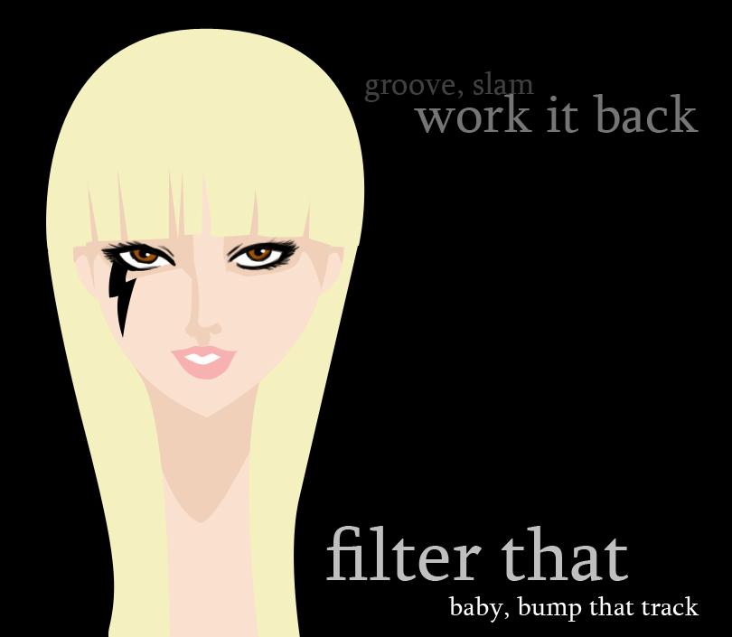 Lady Gaga -Starstruck- by UnholyTrinity666