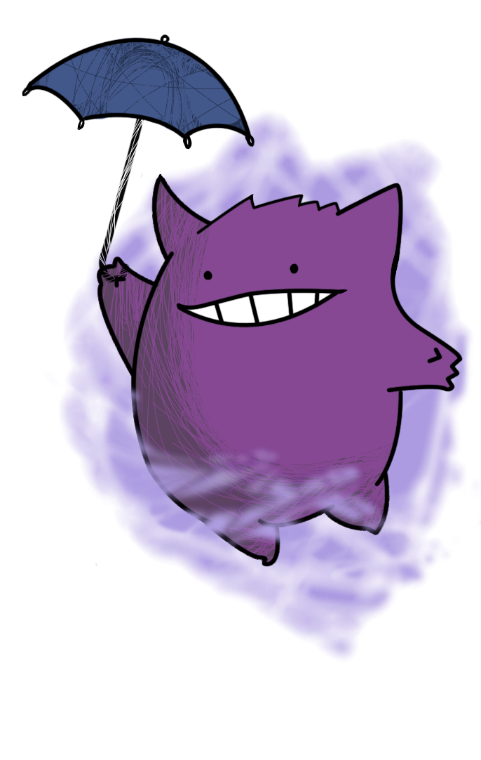 Gengar Knows by UnholyTrinity666 on DeviantArt