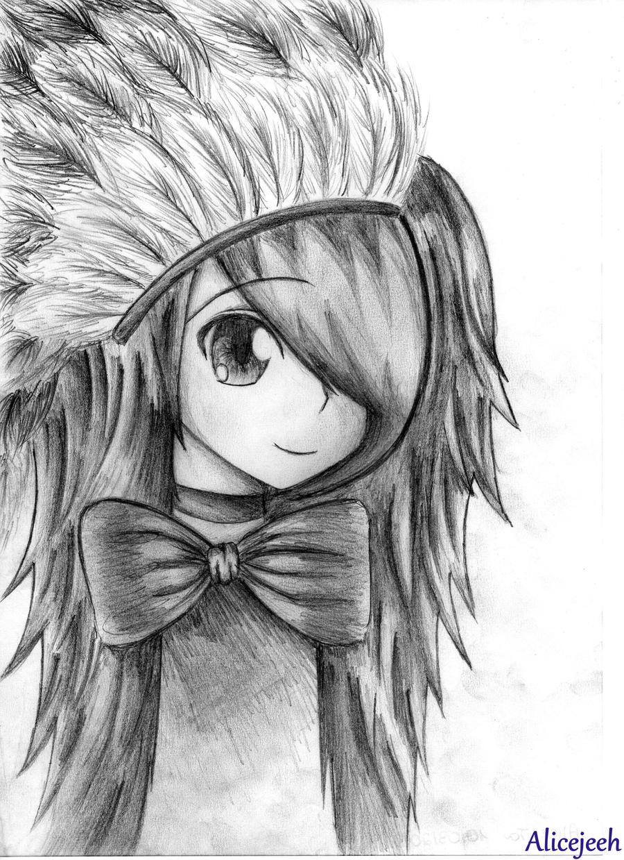 Anime drawings by alicejeeh on deviantart for Amazing drawings of girls