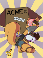 Brought to You by ACME (by Bondagefanart) by HalfEatenCake