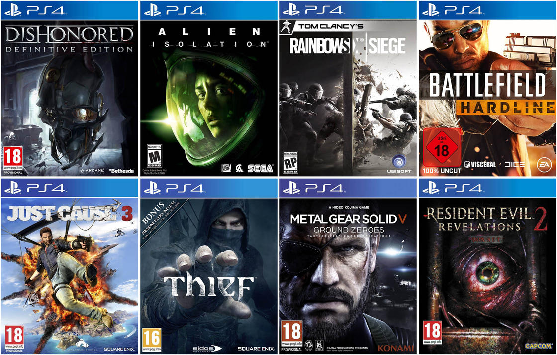 New Ps4 Games 2015 : New games ps by gamesrenderxnalara on deviantart