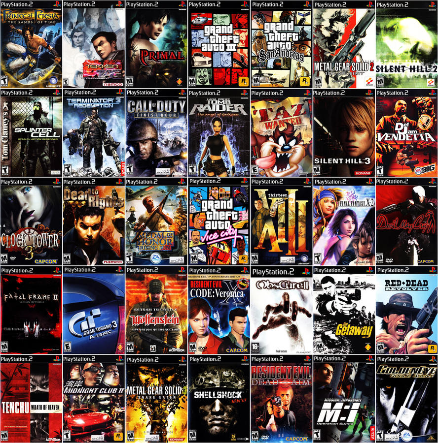 Pictures of All Ps2 Games List Images - #rock-cafe