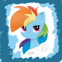 Rainbow Dash by RD-Likes-Steroids