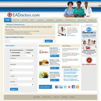 EADoctors.com Site Design