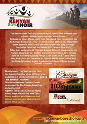 The Kenyan Boys Choir: Flyer