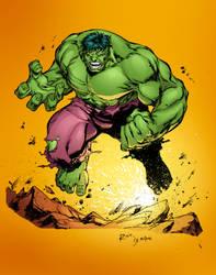 Hulk Inks by NayMoon