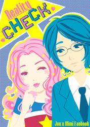 JoeXMimi Doujinshi cover by Blush-Art