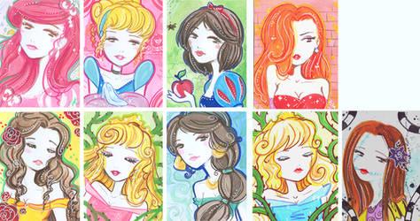 Kika as Disney girls