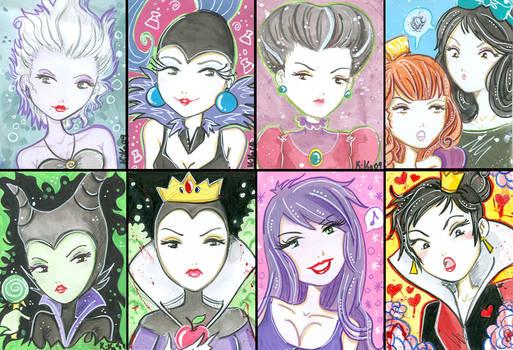 Miss Kika As Disney Villains