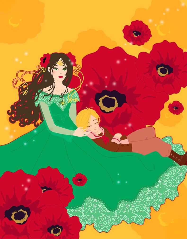 Princess Ozma and Tip by Blush-Art