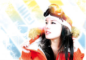 Snow girl by missmurdeur