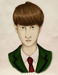 Student boy by missmurdeur