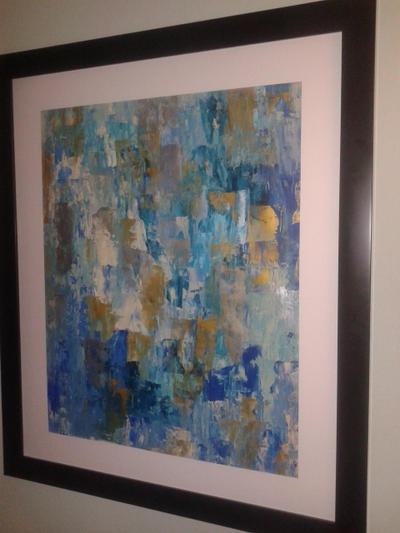 Abstract painting by golder86