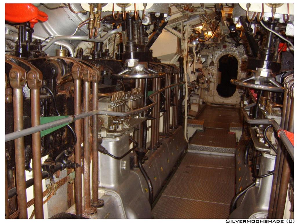 Submarine Interior 18 By Silvermoonshade ...