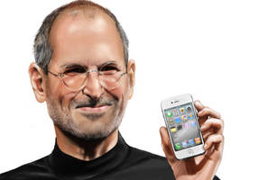 Steve Jobs - Present's Iphone 4 by MosiKashi