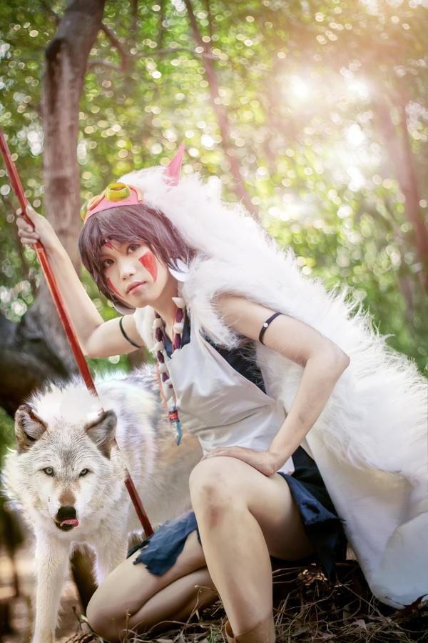 Mononoke Hime 4 by chuongtu