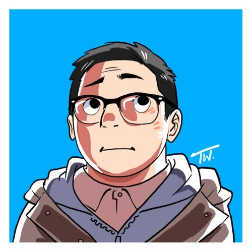 Portrait doodle by thitiwatc