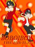 AT Boboiboy Fire and Blaze
