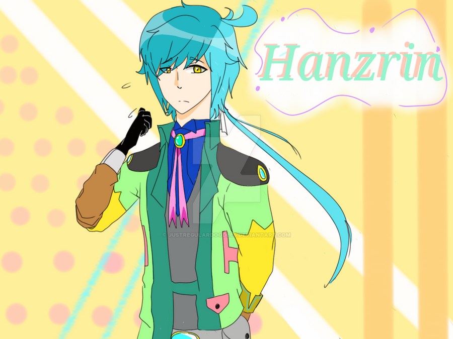 CrosXend Hanzrin the.. sweet guy by JustRegularDoodles