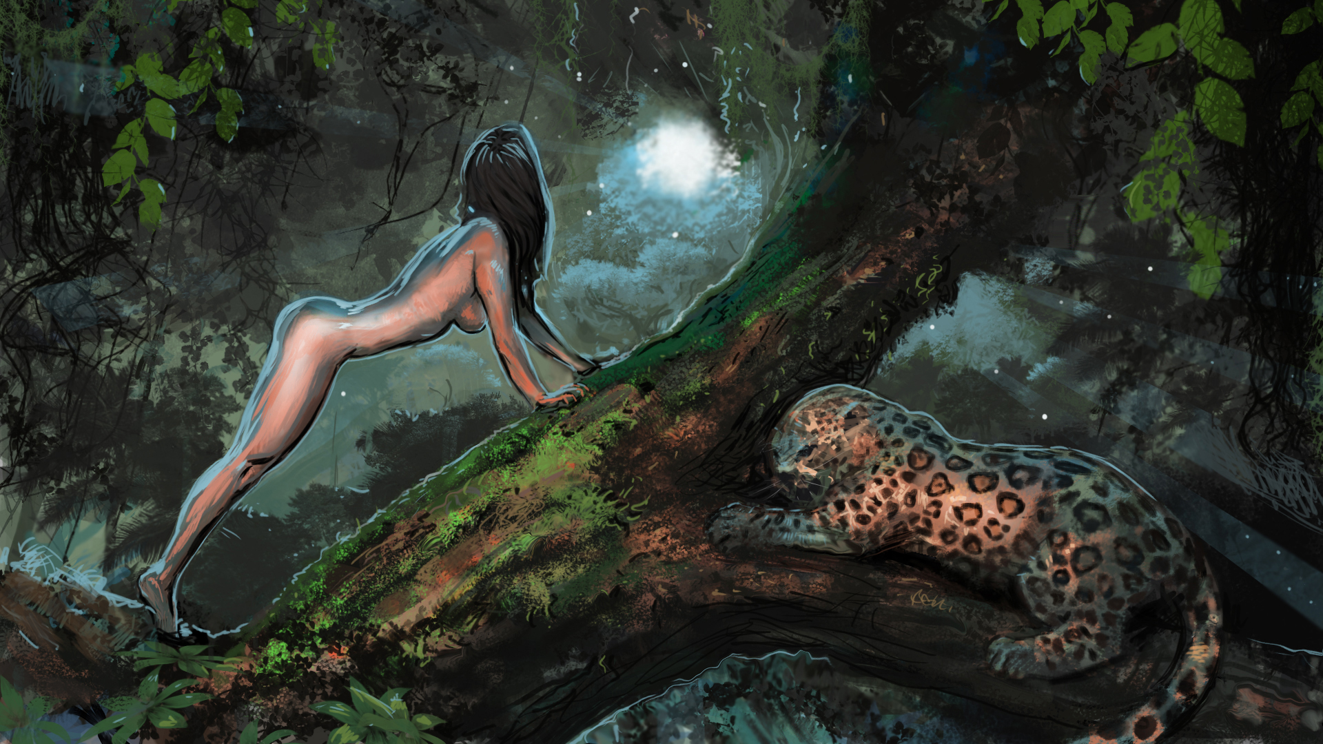 Amazon jaguar female nude fucked videos