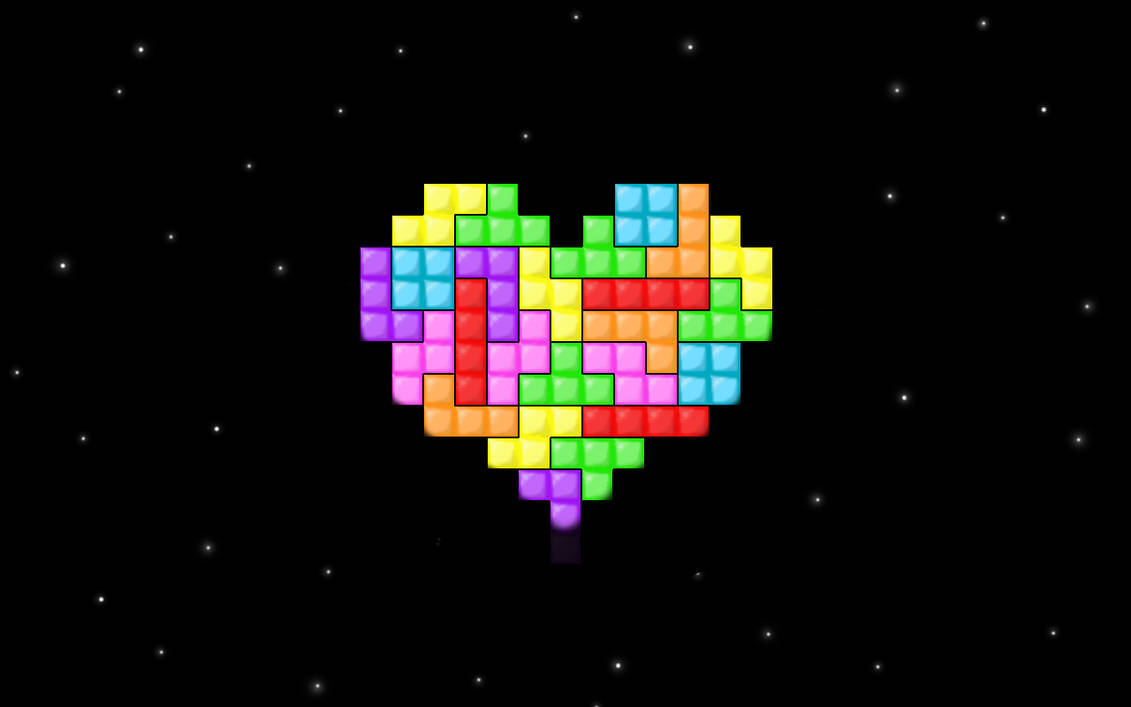 Love for Tetris by CookiemagiK