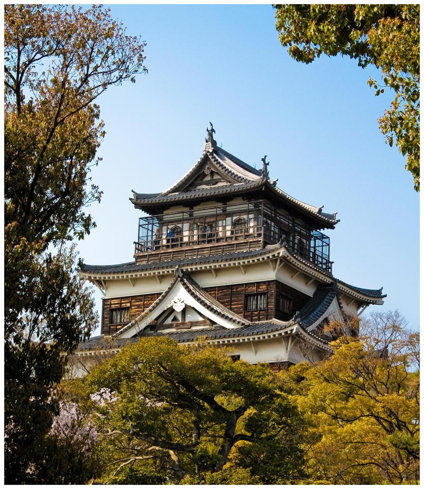 Hiroshima Castle by CookiemagiK