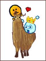 llama appreciation by CookiemagiK