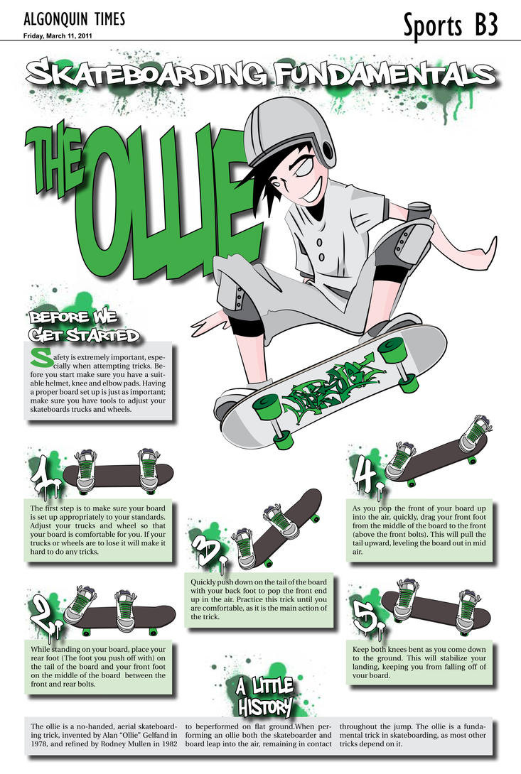How To Do An Ollie By Madstylesott