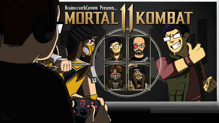 bsc thumbnail: mortal kombat 11 by KenirotoArts