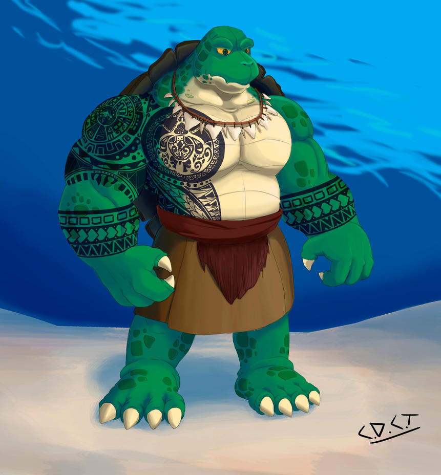 Tortuga maori by cdct on deviantart for Tortuga maori
