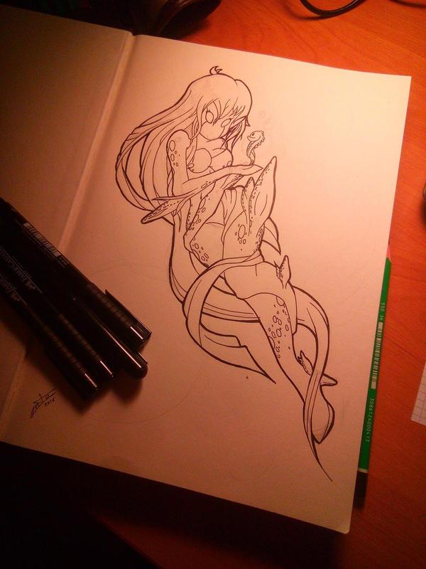Les petits delires de DarkYoshi - Page 2 Mermaid_by_lonely_rocker-d9rm31k