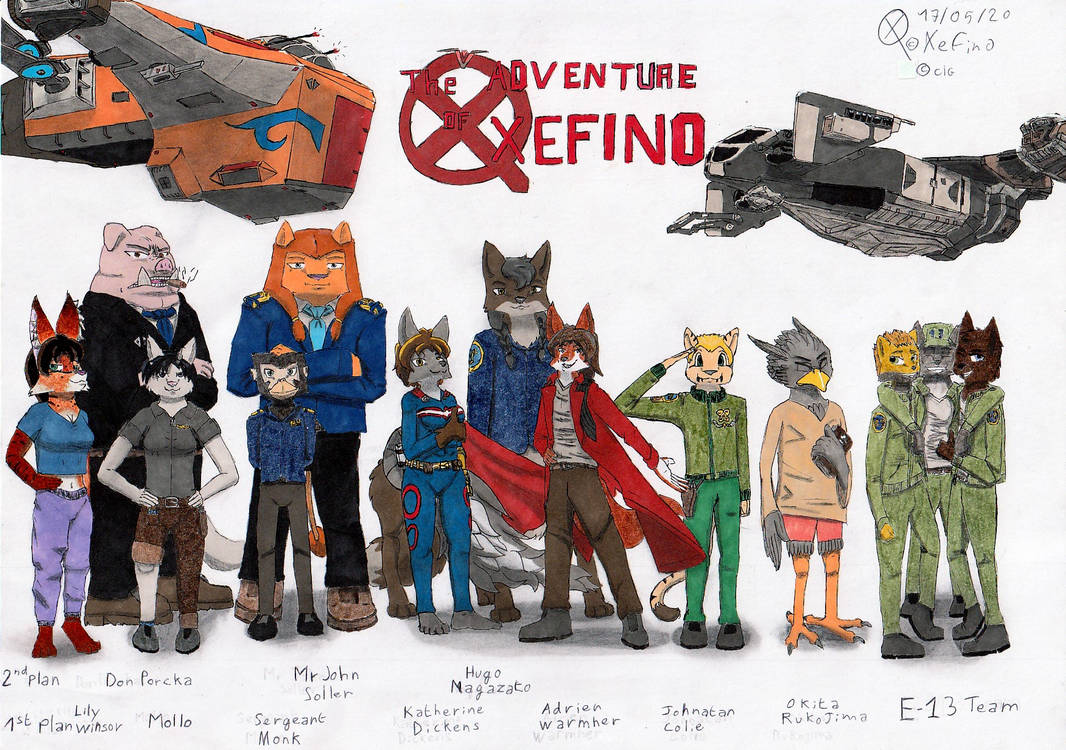 All Characters of TAoX