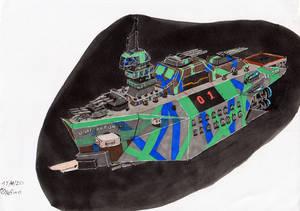 UNAF Paul Arton Class Battleship