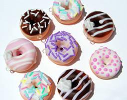 Doughnut Charms by KawaiiCulture