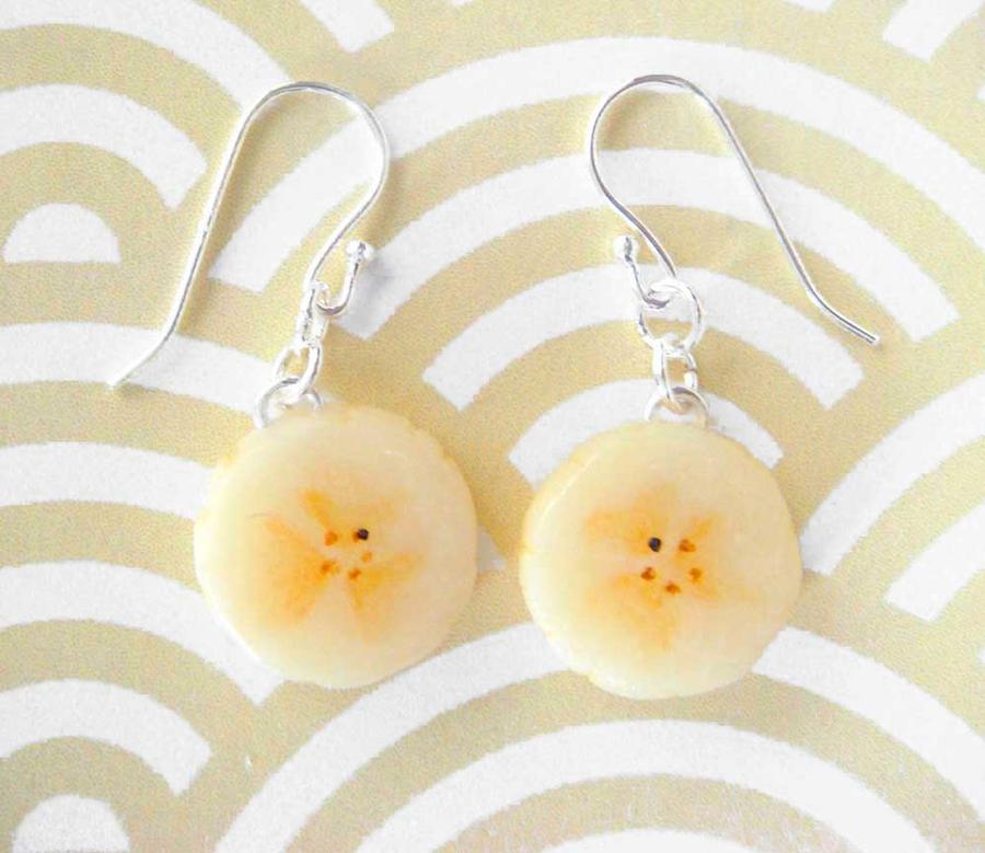 Banana Earrings by KawaiiCulture