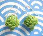 Artichoke Earrings