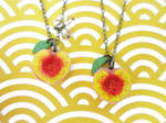Peach Necklaces for Friends