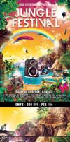 Jungle Festival Flyer
