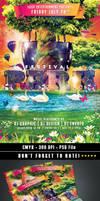 Park festival Flyer