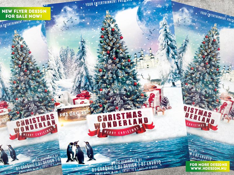 Christmas Wonderland Flyer by HDesign85