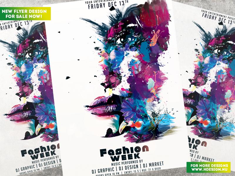 Fashion Week Flyer by HDesign85
