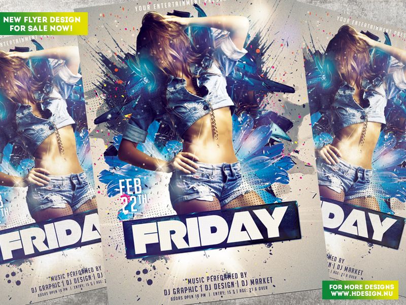 Friday Flyer by HDesign85