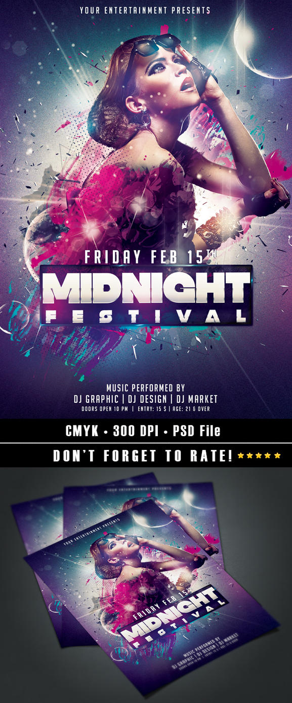 Midnight Festival by HDesign85