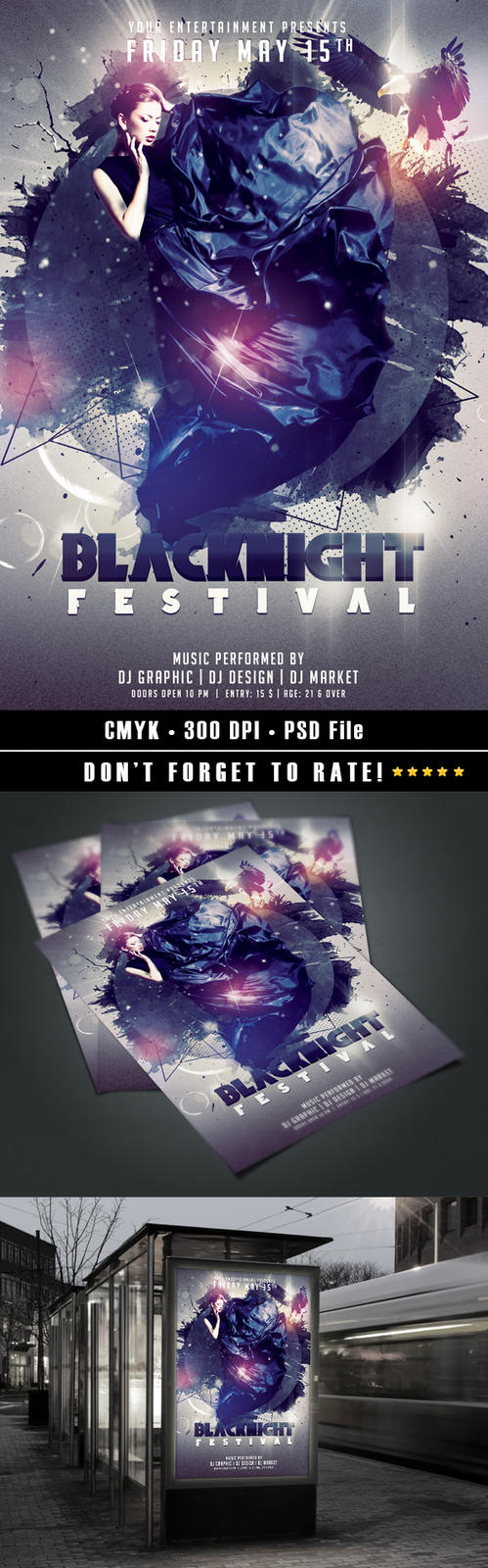 Blacknight Festival by HDesign85